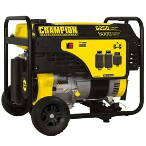 Champion 100812 5000 Watt Portable Generator