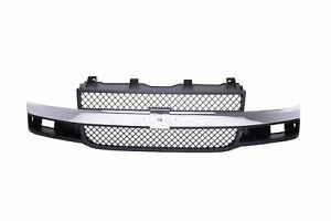 For 2003 2018 Chevy Express 1500 2500 3500 Grille Chrome Shell Gm1200535