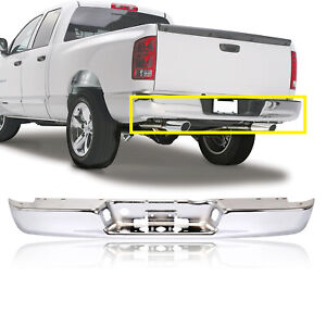 Fits Dodge 02 08 Ram 1500 03 09 Ram 2500 3500 Rear Step Bumper Chrome New