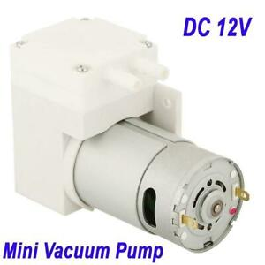 Dc 12v Mini Vacuum Pump Negative Pressure Suction Pumping Pump 7l min 50w 76kpa