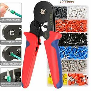 Ferrule Crimping Pliers Set Wote Crimping Tool With 1200 Wire Terminal Crimp