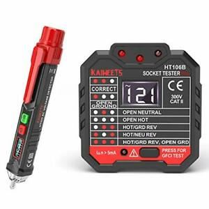Kaiweets Non contact Voltage Tester amp Electrical Outlet multi tester