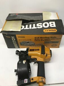 Bostitch Rn45b Ridge Runner Pneumatic Roofing Coil Nailer W box Of Nails Works