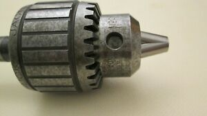 Jacobs Ball Bearing Drill Chuck No 8 1 2n 0 1 4 With Jacobs Arbor No A0102