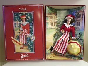 Barbie Coca Cola Doll After The Walk 1997 Fashion Classic Series #17341