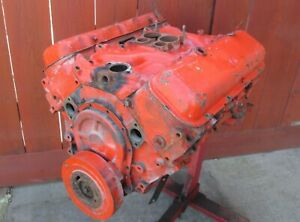 1970 Big Block Chevy 454 Engine 3963512 Std Bore Corvette Chevelle Impala Sweet