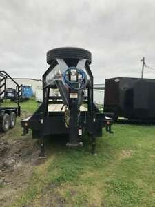 2019 Pj Trailers Low pro Flatdeck With Duals ld Flatbed Trailer