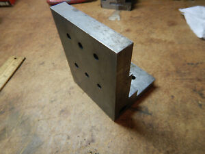 Older Machinist Angle Plate Machinist Tooling Jig Fixture Lot Ap73