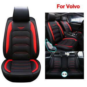 Universal Pu Leather Car Seat Protection Covers Fit For Volvo Xc90 Xc40 S60 S90
