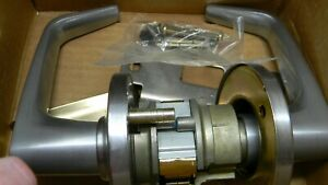 Stanley Security Lever Ic Core Entrance Lock 9k37c Double Keyed Satin Chrome