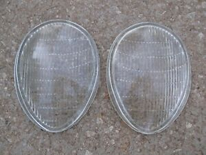 Nors 1940 S Vintage New 1939 Ford And Mercury H 112 Lenex Headlamp Lens Pair