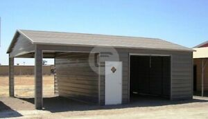 20 31 Side Entry Metal Garage free Delivery Installation