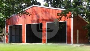 50 50 Clear Span Garage free Delivery Installation