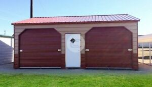 22 26 Side Entry Metal Garage free Delivery Installation