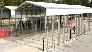 40 76 Vertical Roof Rv Carport free Delivery Installation