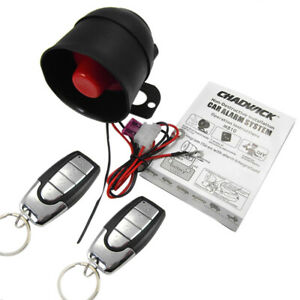 2 Way Remote Control Alarm Protection Security System Lock For Suv Cars Kit