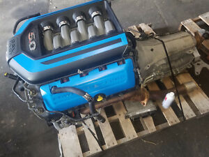 11 14 Ford Mustang Gt Coyote 5 0 Engine 6r80 Automatic Transmission Swap Motor