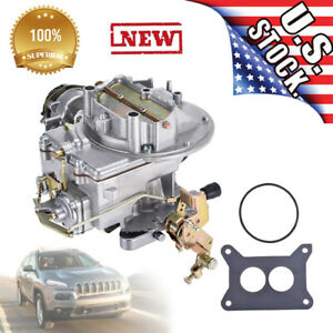 Sale Two 2 Barrel Carburetor Carb 2100 For Ford 289 302 351 Cu Jeep Engine Us
