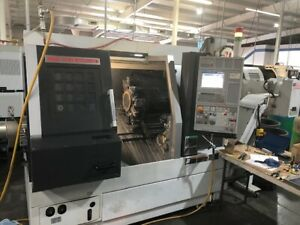Used Mori Seiki Duraturn 2550mc Cnc Lathe 2010 3 1 Bar 10 Chuck Live Tooling