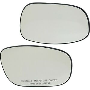 5139198aa 5139199aa New Set Of 2 Mirror Glasses Driver Passenger Side Pair