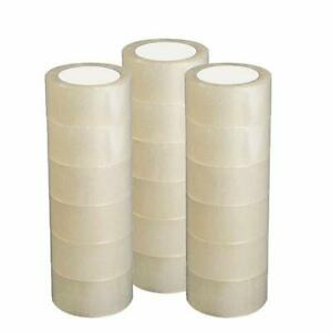 12 18 Rolls Heavy Duty Packaging Acrylic Tape Sealing Packing Tape F Moving Box