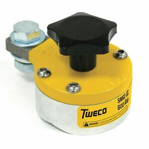 Tweco 600 Amp Magnetic Ground Clamp Smgc600 Welding Magnet Ground Clamp New