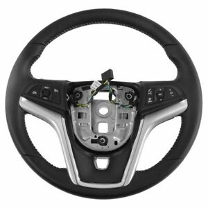 Oem 22790895 Black Leather With Light Stone Stitching Steering Wheel For Camaro