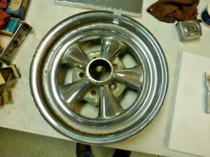 Vintage Cragar 15 X 4 4 3 4 Chevrolet Racing Wheel Gm Camaro Gasser
