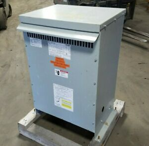 45kva General Electric 9t10a1003 Dry Type Transformer 3ph 480 208 120v Can Ship