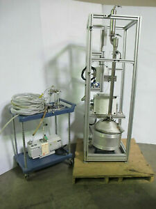 B r Instrument 9600 High Efficiency Distillation System Solvent Recycling
