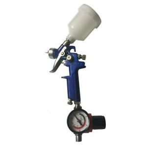 0 8 1 4 Nozzle Paint Primer Hvlp 2 spray Guns Gauge Auto Gravity Feed