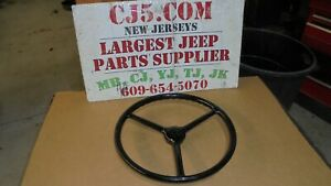 Military Jeep Dodge Ford Sheller 18 Dia Nos Steering Wheel