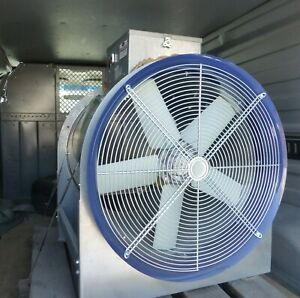 Tube Axial Duct Fan Direct Drive 24 5 Hp 3 Phase 3500rpm