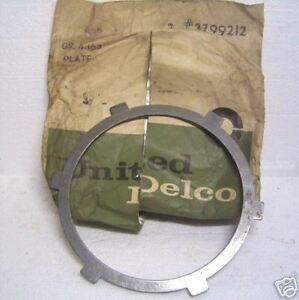 1962 1963 Chevrolet And Corvette Powerglide Transmission Clutch Gm 3799212 Nos