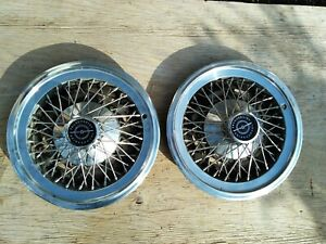 Ford Thunderbird 15 Hubcaps Spoked 74 79