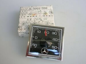 Mercedes Vintage Car Dash Thermometer 190 300 Sl 500 600 S Autothermometer Nos