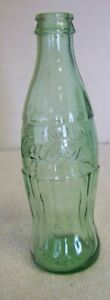 Glass 8 oz Coca Cola Bottle -Cokeville Wy.