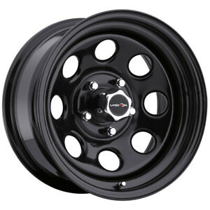 4 Vision 85 Soft 8 15x10 5x4 5 39mm Gloss Black Wheels Rims 15 Inch