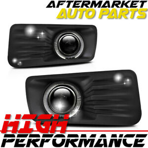 For 2006 2010 Ford Explorer Halo Projector Fog Lights Clear