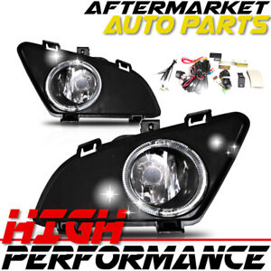 For 2003 2005 Mazda 6 Fog Light Wiring Kit Included Clear