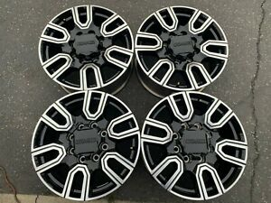2020 Gmc Sierra Denali Hd2500 Factory 20 Wheels Rims Oem 23377037 Black Chevy