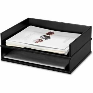 Victor Wood Stacking Letter Tray 11545