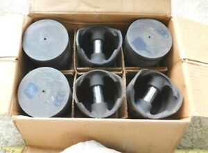 6 New Pistons For 1941 53 Chevy Cars Trucks With 235 Engine Chevrolet 030 O S