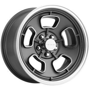 4 Vision 148 Shift 15x8 5x5 19mm Gunmetal Machined Wheels Rims 15 Inch