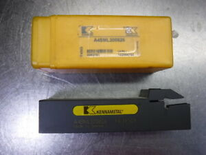 Kennametal 1 25 Indexable Parting Grooving Tool Holder A4sml200826 loc1906a
