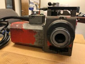 Haas 5c Indexer With Pneumatic Collet Closer Control Box Cables