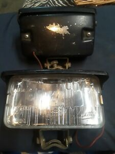 Michelotti Fog Lights Rare Discontinued Vintage 1980 S Clear Lens