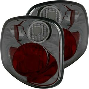 211176 Anzo Set Of 2 Tail Lights Lamps Driver Passenger Side New Lh Rh Pair