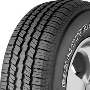 2 New P235 70r16 Continental Contitrac 104t 235 70 16 All Season Tires