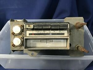 1969 Lincoln Continental Push Button In dash 8 track Am Radio C9va 19a242 185